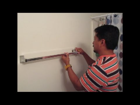Fixing A Loose Towel Rack Or Towel Bar Youtube
