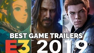 The Best Game Trailers of E3 2019[4K]