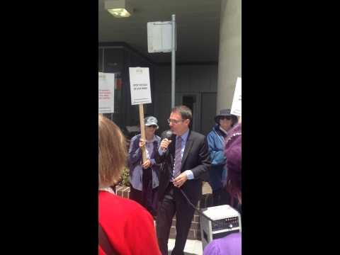 Greens NSW MP, Dr John Kaye - save RNSH - December 12, 2014
