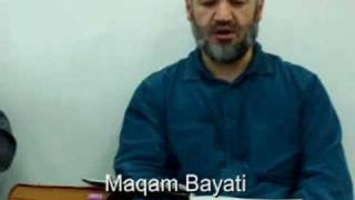 Maqam Bayati by shaikh Esmet