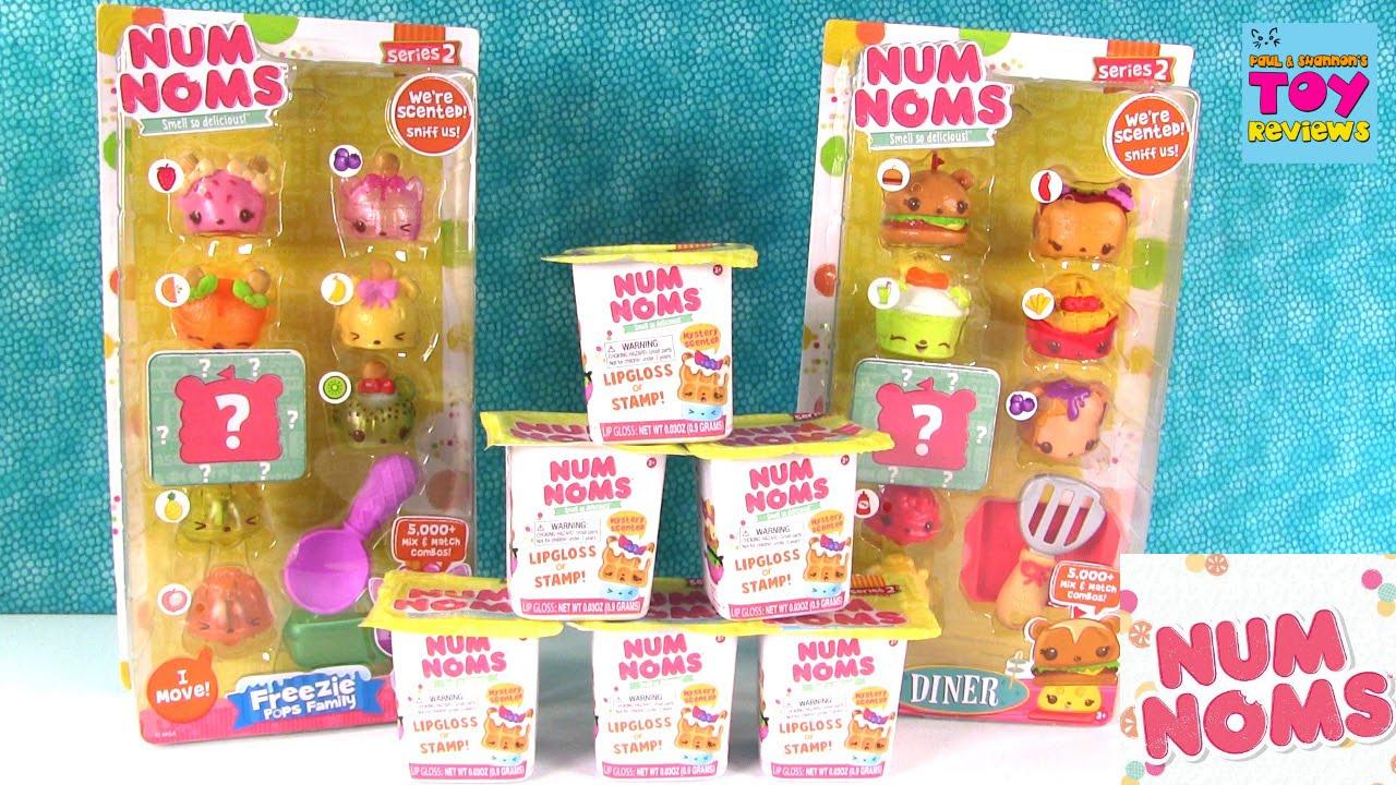 Num Noms Diner Freezie Pops Family Blind Bag Series 2 Toy