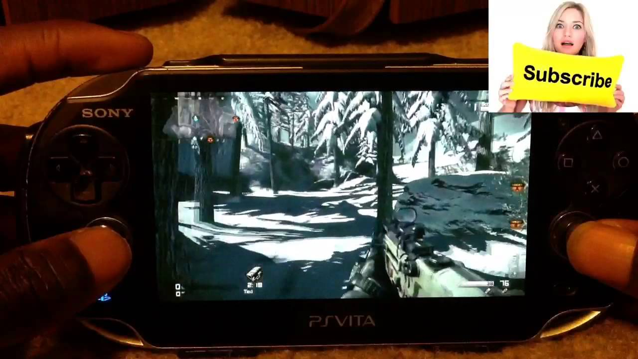 Ps Vita Remote Play Nba 2k14 Call of Duty Ghost & More Gameplay - YouTube