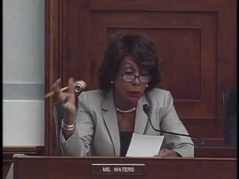 Ranking Member Waters Calls for Prosecution of Banks Involved in Drug Money Laundering