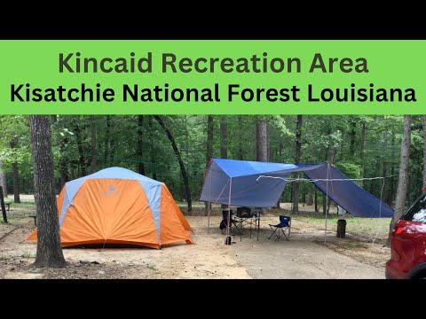 Lake Kincaid NFS Campground, Louisiana