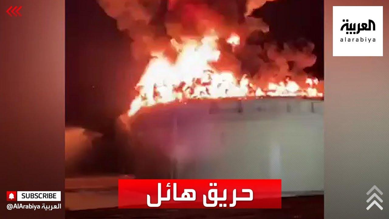 أحد الصواريخ يصيب منشأة نفط في عسقلان و إسرائيل تقول إن الحريق فيها قد يستمر أياما  - نشر قبل 3 ساعة