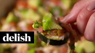 Zucchini Nachos | Delish