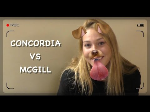 CONCORDIA VS MCGILL (SOCIAL EXPERIMENT) BY ANTONY DAGGER