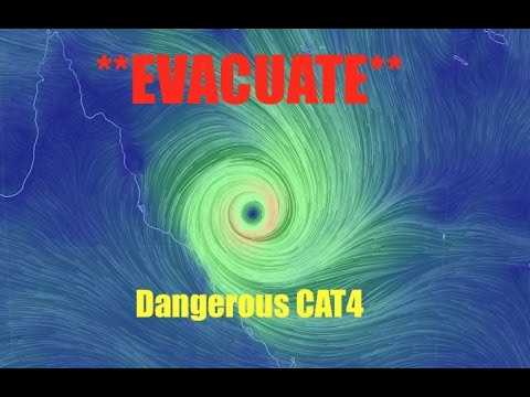 Evacuations Underway! | Powerful *BIG CAT4* bearing down on QLD