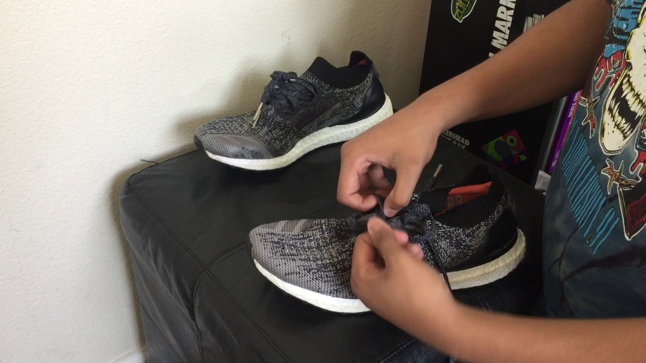 promo code bfa6a 29461 3 Different Ways To Lace The Adidas Ultra Boost Uncaged + On Feet