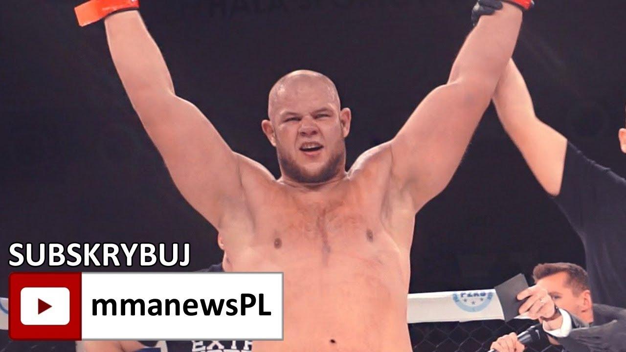 PLMMA 75: Łukasz Warchoł nowym mistrzem wagi ciężkiej