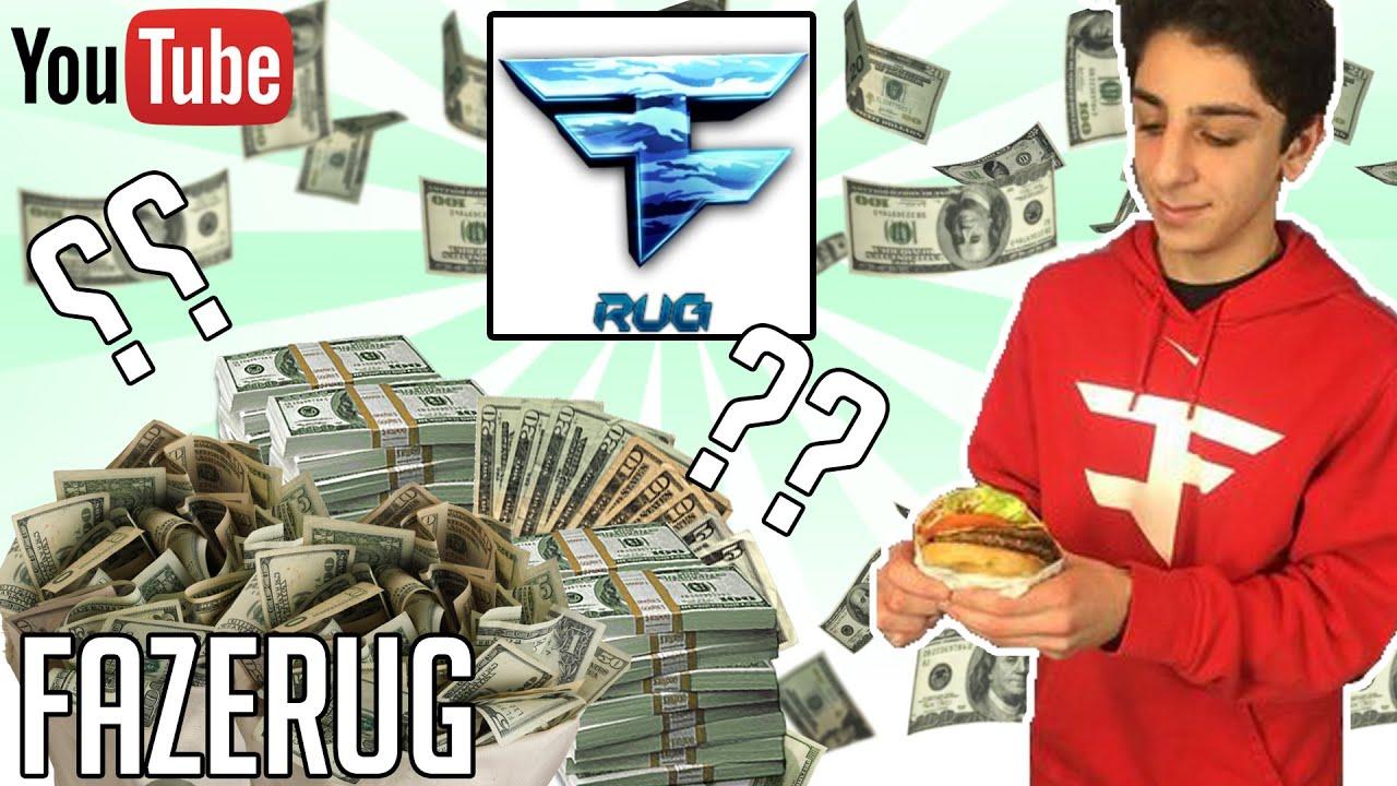 How Much Money Does Faze Rug Make On Youtube  Youtube Earnings