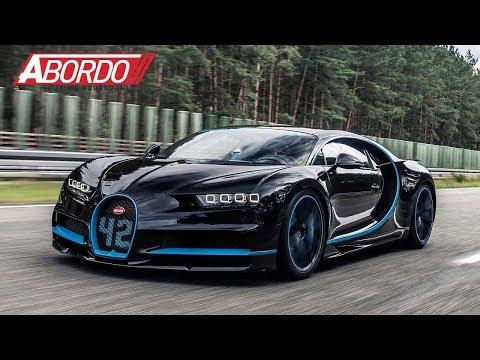 En Video: Juan Pablo Montoya bate récord de velocidad A Bordo del Bugatti Chiron