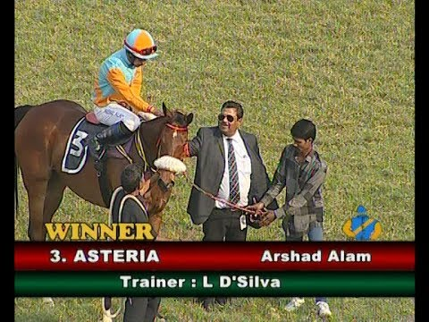 Arshad Alam riding Asteria wins The Delhi Race Club Plate Division 2