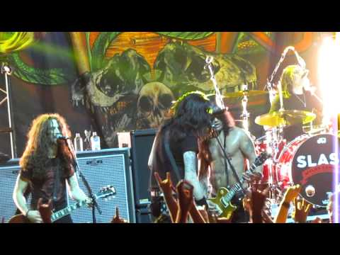 Slash  By The Sword Ft Andrew Stockdale and Paradise City Brisbane 2012