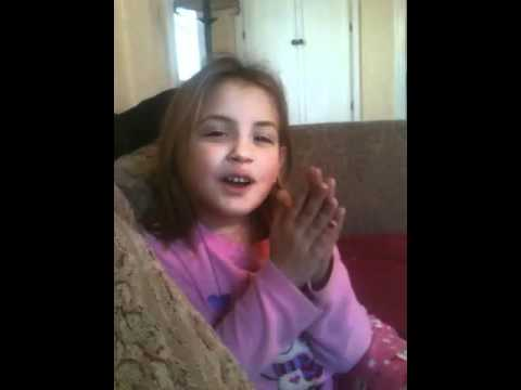 7year old Elysse singing