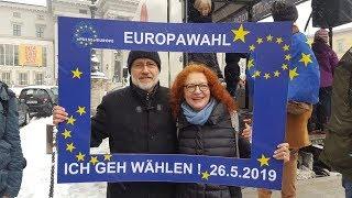 Harald Lesch auf dem Pulse of Europe #München am 03.02.2019