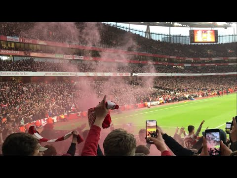 Arsenal Fans At North London Derby *VICTORY* (4-2)