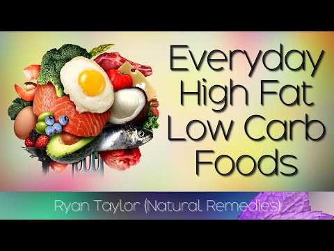 Best High Fat Foods for Keto (Low Carb) - Ryan Taylor ...