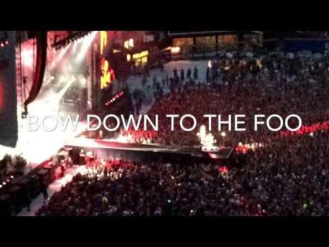 Foo Fighters in Concert @ Citi Field on 7/16/15 iMovie Fun