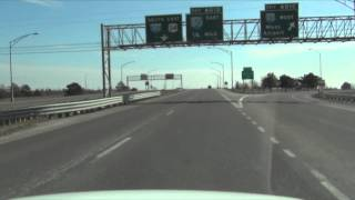 Car Camera - Lincoln, NE - Woodlawn to the State Capitol . 2013 ( ネブラスカ州リンカーン市 )
