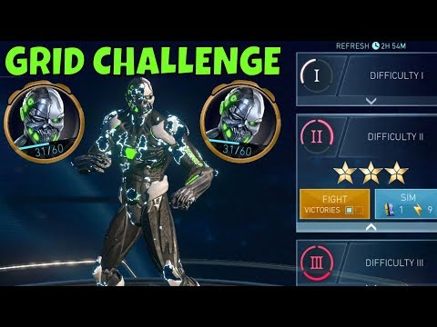 Injustice 2 Mobile Grid Challenge Gameplay. Not As Challenging As I Thought!