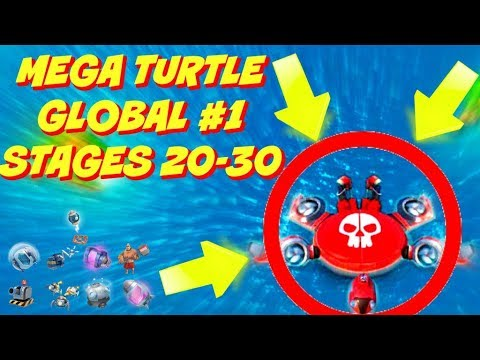 MEGA TURTLE GLOBAL #1| STAGES 20-30 | NEW BOOM BEACH EVENT!