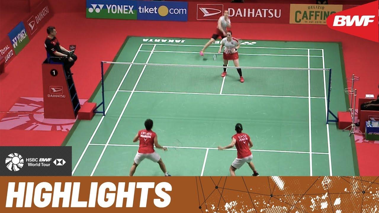 Daihatsu Indonesia Masters 2020 Finals Wd Highlights