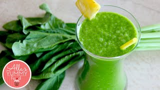 Healthy Breakfast: DAY 1: Pineapple & Kale Smoothie - Losing Weight