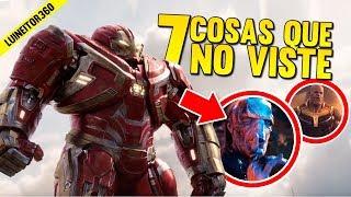 Infinity War Trailer 2 - Secretos Que Tal Vez No Viste, Easter Eggs Y Más! (breakdown) Luineitor!