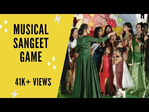Games for sangeet   Musical game   Sangeet games