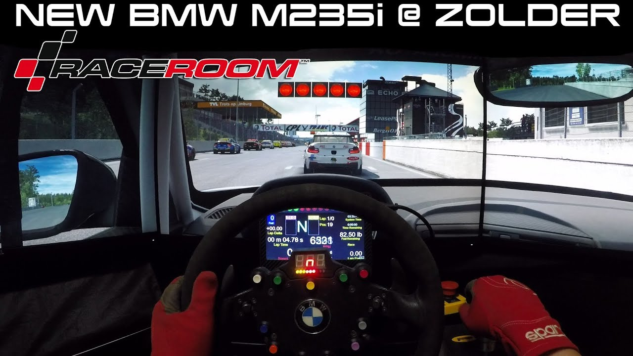Raceroom Race  New BMW M235i  Zolder  YouTube