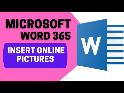13- How To Insert Online Pictures In Microsoft Word 365