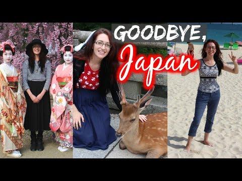 GOODBYE JAPAN... HELLO AUSTRALIA!