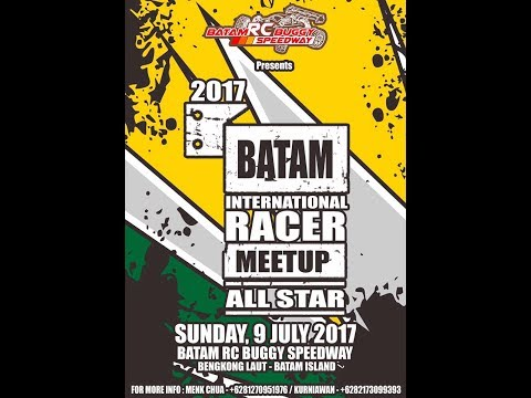 Batam International Racer Meetup 2017 - A-Main Final