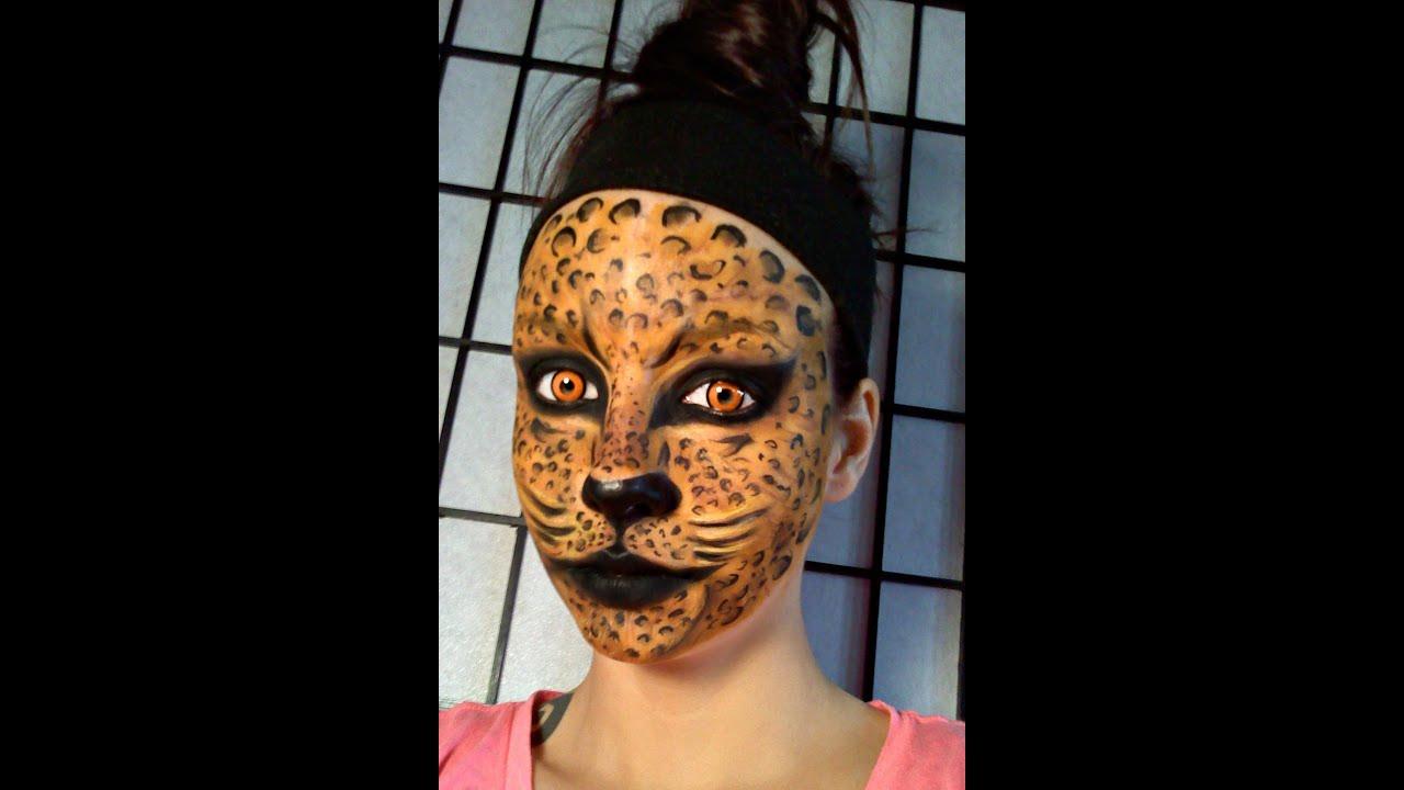 Leopard / Jungl... Realistic Tiger Makeup