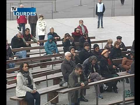 Chapelet de Lourdes du mardi 09 janv. 2018