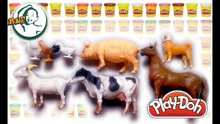 Learn names of farm animals with animal sounds