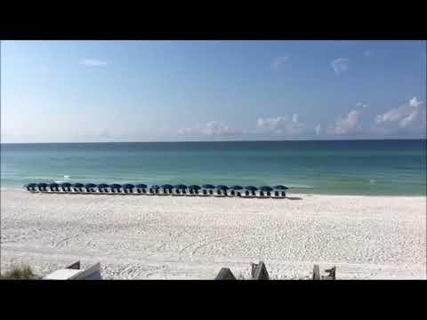 Florida Travel: Time-lapse Of Santa Rosa Beach