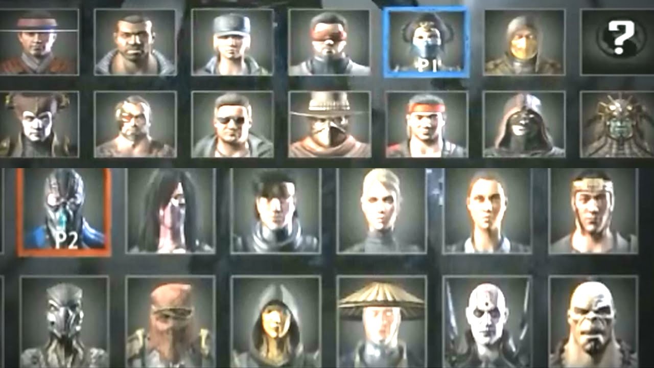 Mortal Kombat X All Characters Roster Revealed Ps4 All Hd