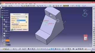 CATIA free online training for beginners | how to create and use the angle plane definition thumbnail