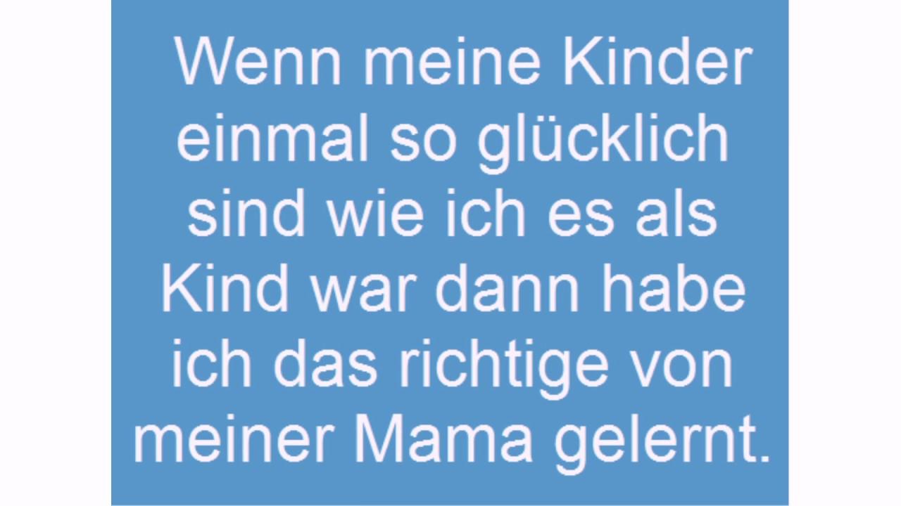 Mama Sprüche Youtube