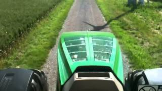 Driving new John Deere 7280R