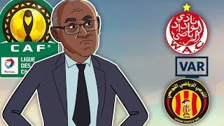 Le360.ma •ميكرو 36: أحمد أحمد رئيس الكاف يقصف الترجي ويصدم الجميع هذه حقيقة تعطيل الفار