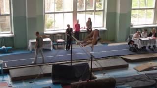 Брусья спортивная гимнастика первый взрослый разряд