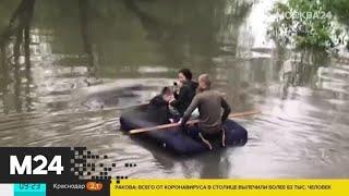 Жители Москвы проплыли по Яузе на надувном матрасе - Москва 24