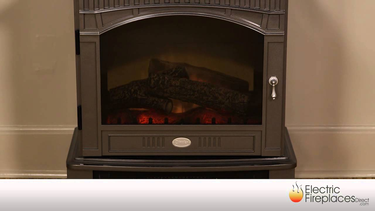 free standing electric stoves electric fireplaces direct youtube