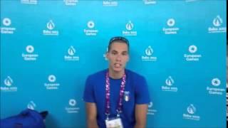 European Games Beach: Matteo Ingrosso