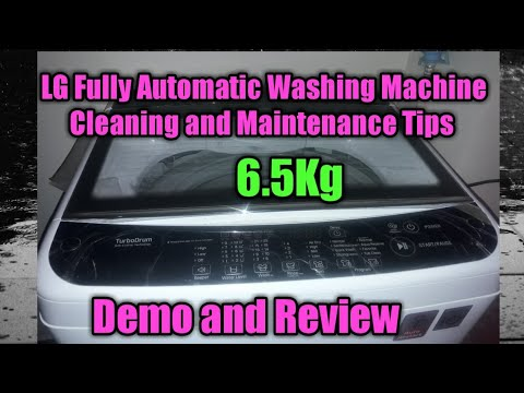 LG 6.5Kg Top Loading Fully Automatic washing machine cleaning and maintenance tips in tamil