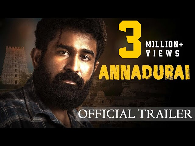 ANNADURAI - Official Trailer   Vijay Antony   Radikaa Sarathkumar   Fatima Vijay Antony   2K