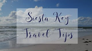 Helpful tips to plan your Siesta Key vacation in Florida.